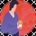 Snacks French Fries Cinema Snacks Icon