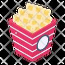 Takeaway Food Food Bucket Cinema Snacks Icon