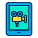 Online Movie Tab Tablet Icon