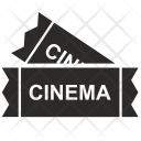 Cinema Seats Cards Icon