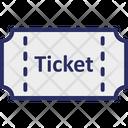 Cinema Tickets Film Tickets Movie Tickets Icon