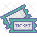 Cinema Tickets Movie Raffle Movie Tickets Icon