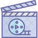 Cinematography Film Production Film Recording Icon
