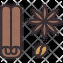 Cinnamon Spice Ingredient Icon