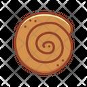 Cinnamon Roll Bakery Food Icon