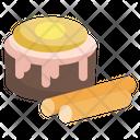 Cinnamon Roll Cinnamon Food And Restaurant Icon