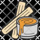 Food Spice Cinnamon Sticks Icon