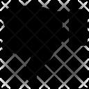 Circle Dislike Down Icon
