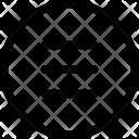 Circle Lines Navigation Icon