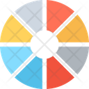 Circle Color Selection Colors Icon