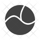 Circle Three Parts Icon