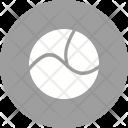 Circle With Three Icon