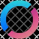 Circle Logogram Shape Icon