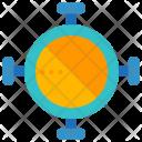 Circle One Symbol Icon