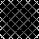 Circle Outline Circular Icon