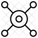 Circle Network Diagram Icon