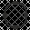 Circle Curve Geometry Icon