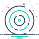 Circle Cycle Wheel Icon