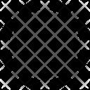 Circle Crop Mini Circle Circle Outer Icon