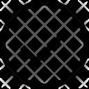 Circle Check Checker Icon