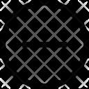Circle Remove Line Icon