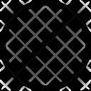 Circle Mark Line Icon