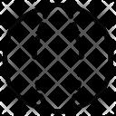 Circle Shape Geometry Icon