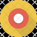 Circle Dot Rec Icon