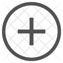 Circle Add Plus Icon