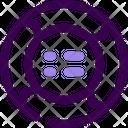 Circle Arrrow Circle Arrow Diagram Icon