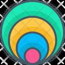 Circle Bar Chart Icon