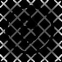 Circle Bitcoin Icon
