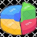 Circle Chart Modern Infographic Graphic Representation Icon