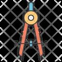 Circle Compass Icon