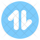 Circle Data Mobile Icon