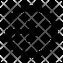 Circle Line Right Icon