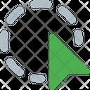 Circle Selection Icon