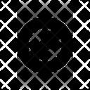 Circle Slash Icon