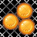 Icon Circle Soft Gel Medicne Health Icon