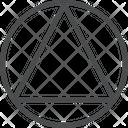 Circle Triangles Design Tool Icon
