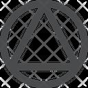 Circle Triangle Icon