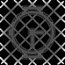 Circle Watch Accessories Fashion Icon