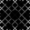 Circles Center Pattern Icon