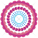 Circular Circles Logogram Icon
