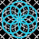 Circles Shape Design Icon