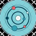 Circles Line Graph Icon