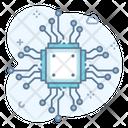 Hardware Chip Micro Icon