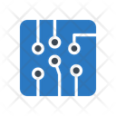 Circuit Chip Electric Icon