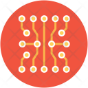 Circuit Electronic Connections Icon