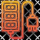 Circuit Board Socket Plugin Icon